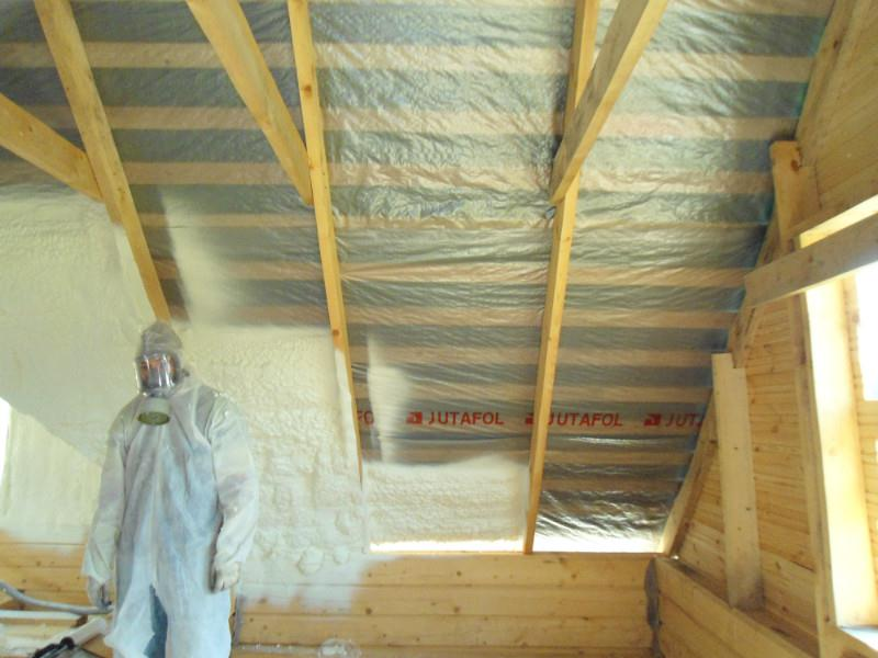 Утепление мансарды пенополиуретаном изнутри дома, технология теплоизоляции ппу