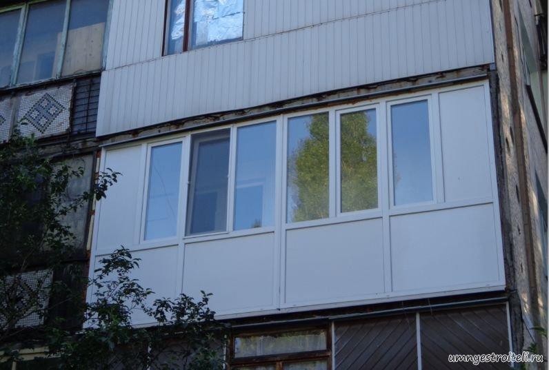 Отделка балкона сэндвич панелями, как выбрать и фото сэндвичей