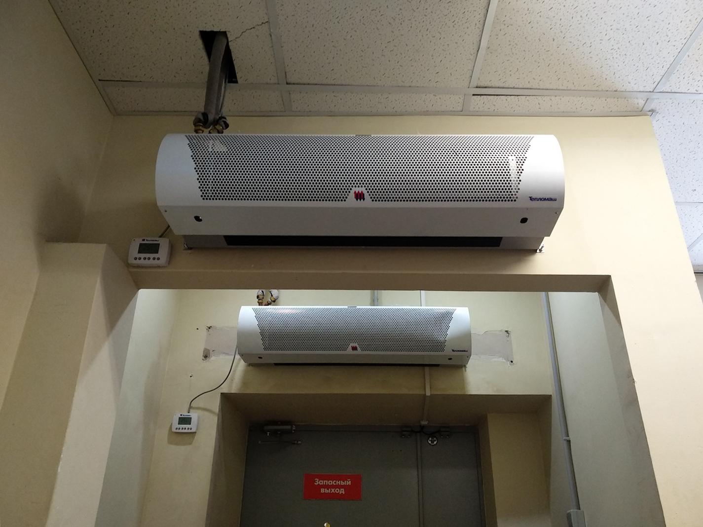 Воздушная и тепловая завеса в дом. какую выбрать? на сайте недвио