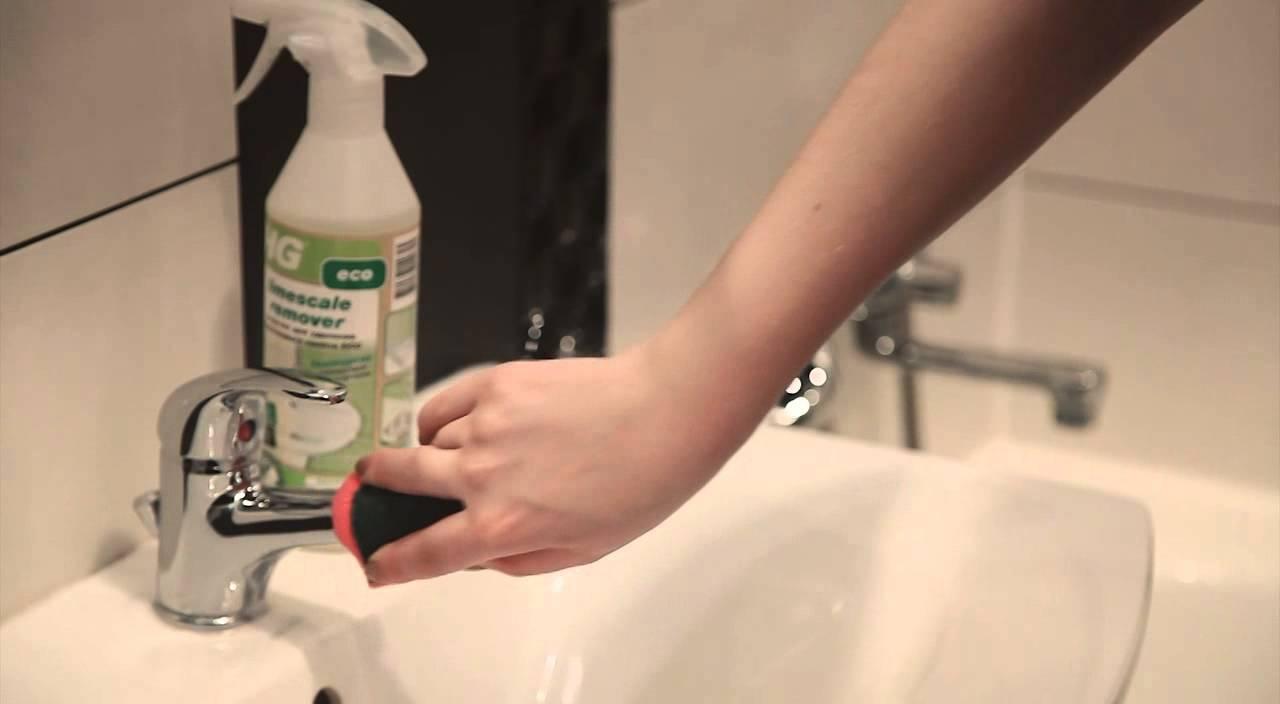 Как почистить кран от известкового налета, душевую лейку и шланг