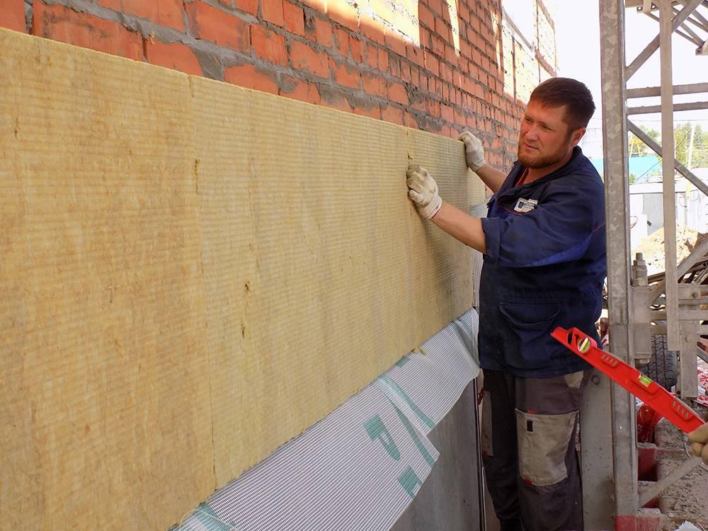 Виды утеплителей для наружных стен дома и способы их монтажа