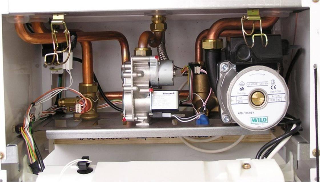 Почему газовый котел не греет воду