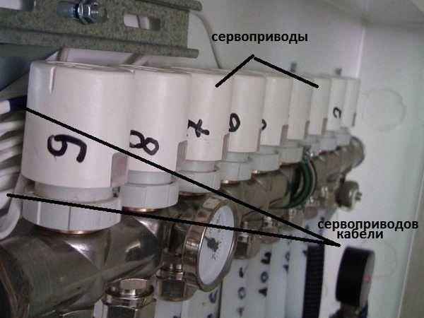 Как подключить сервопривод для коллектора теплого водяного пола
