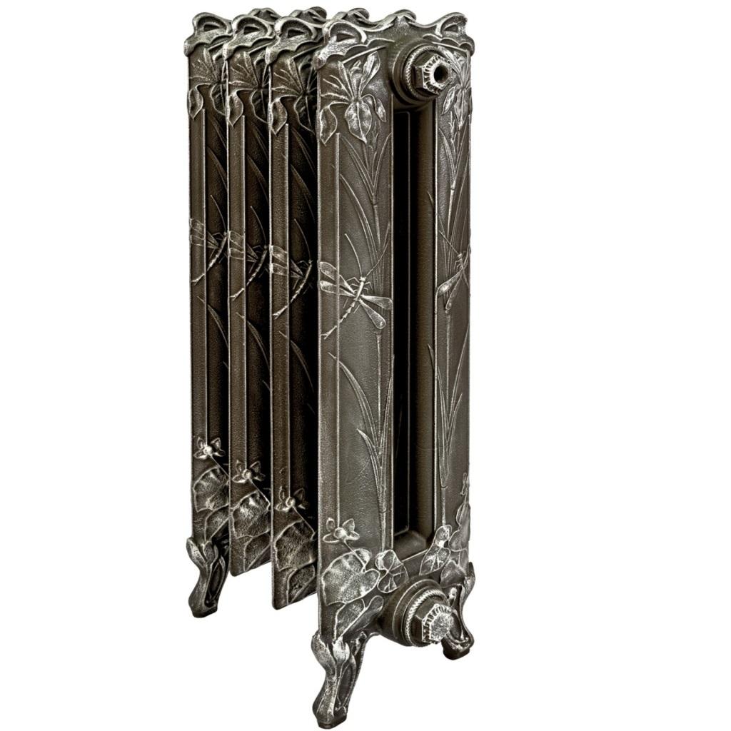 Усовершенствованные чугунные радиаторы в ретро стиле
