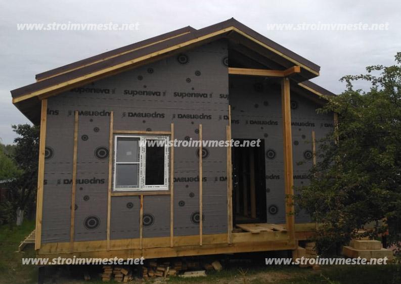 Внешняя отделка дома из сип панелей, рекомендации профессианалов