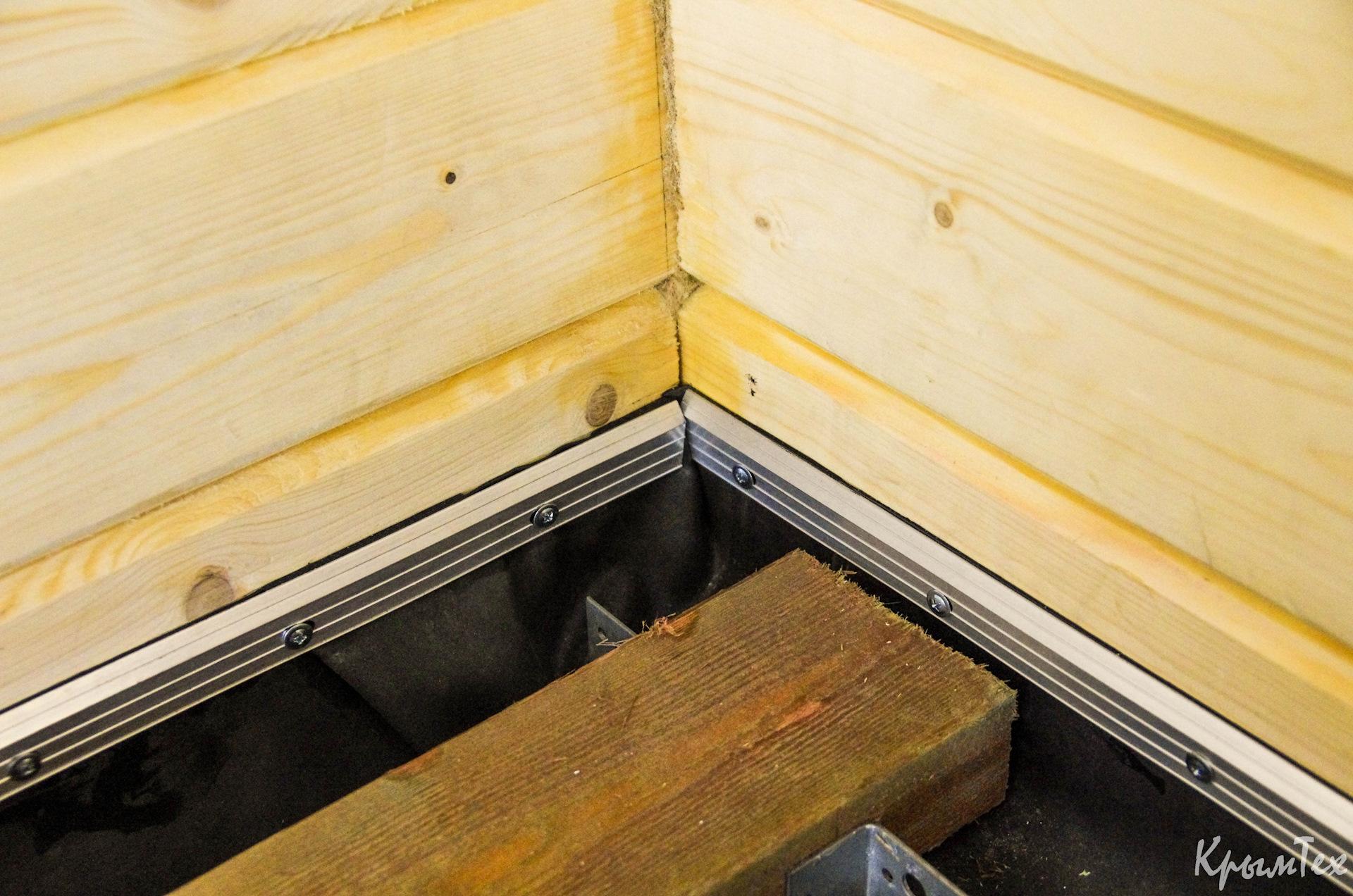 Пол в бане на сваях: как сделать устройство пола на винтовых сваях, фото и видео