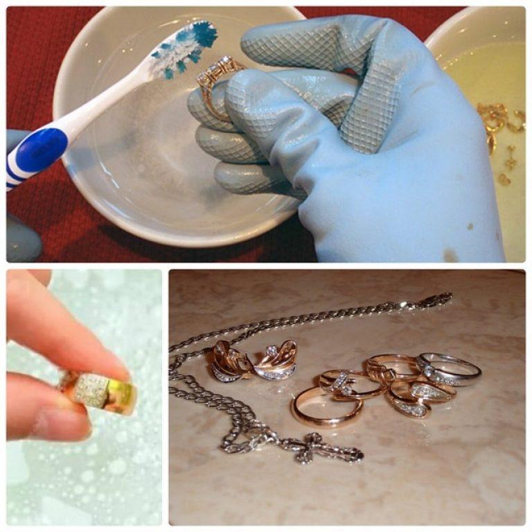 Как почистить золото в домашних условиях: самые эффективные способы