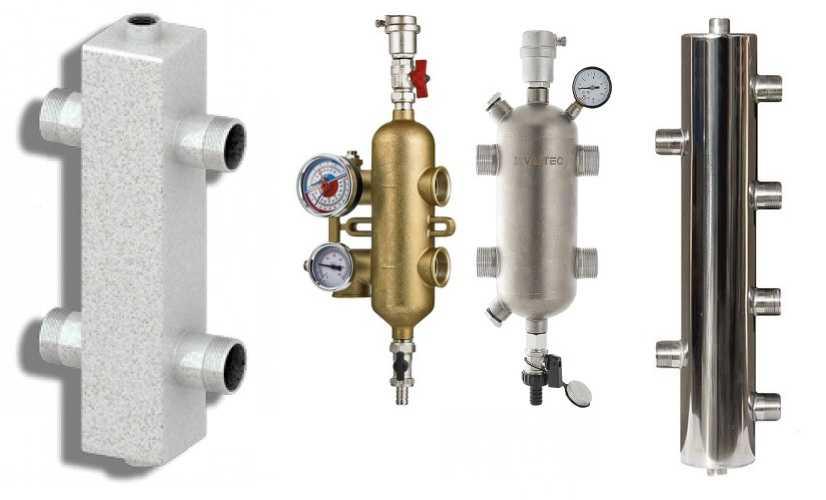 Гидрострелка для отопления: 3 случая установки