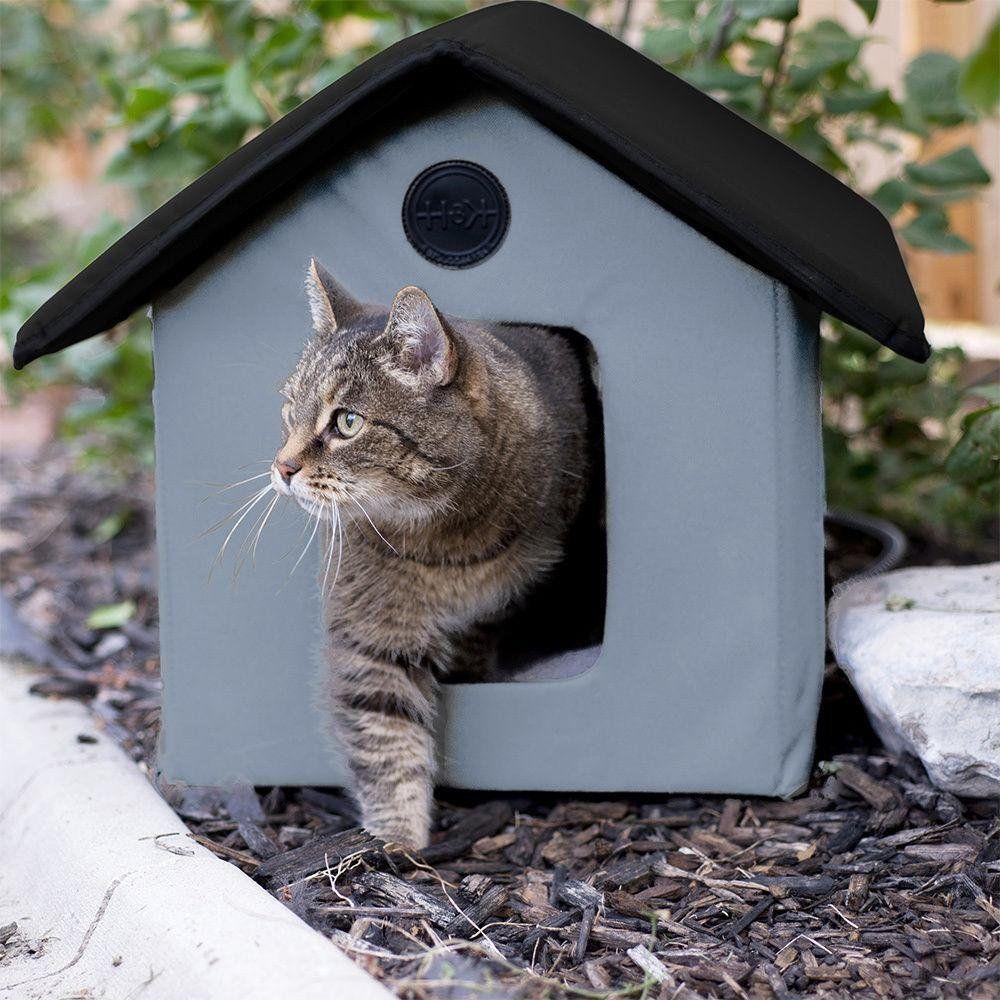 Зимний домик для бездомных котов своими руками