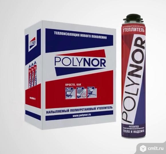 Инновационный полиуретановый утеплитель полинор в баллонах, цена и качество polynor