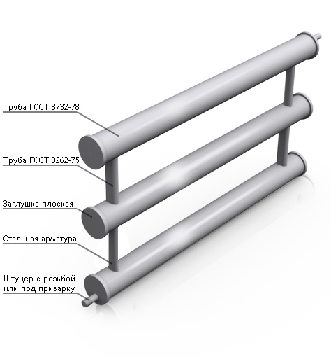 Регистры отопления из стальных труб – определим их теплоотдачу, а так же как осуществить установку и демонтаж