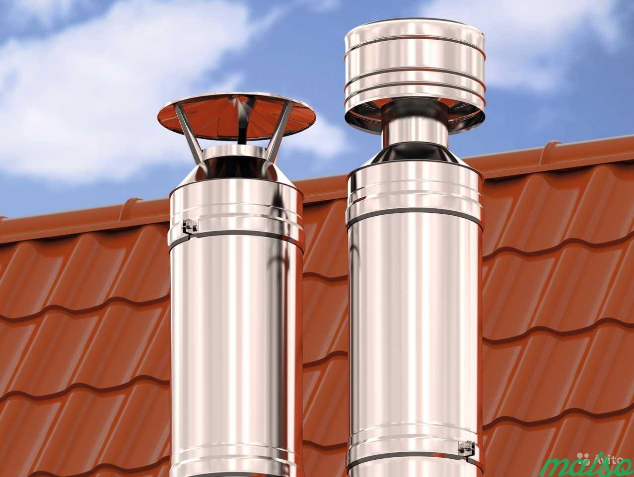 Зачем утепляют дымоходную трубу - кровля и крыша