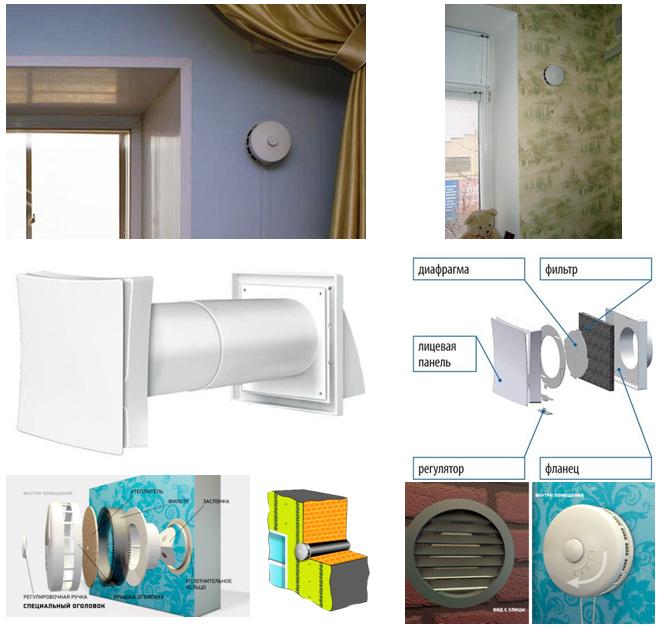 Приточный клапан в стену - 95 фото как правильно выбрать и установить лучший приточный клапан