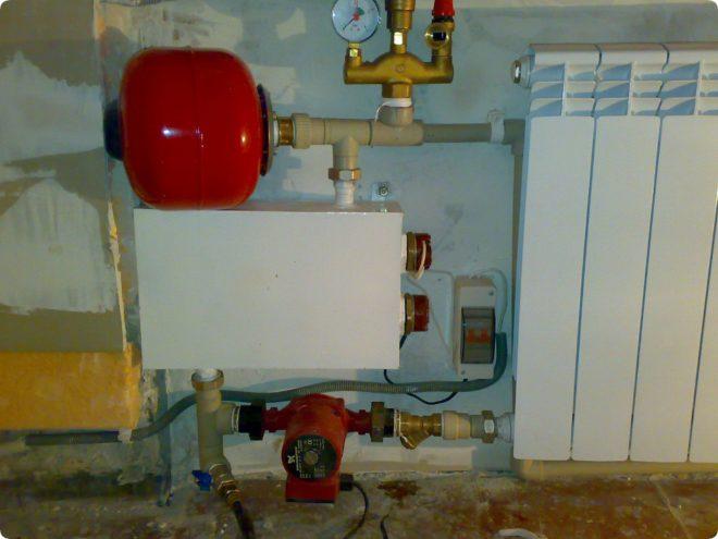 Самодельный электрокотел своими руками для отопления дома и как сделать 220в тэновый