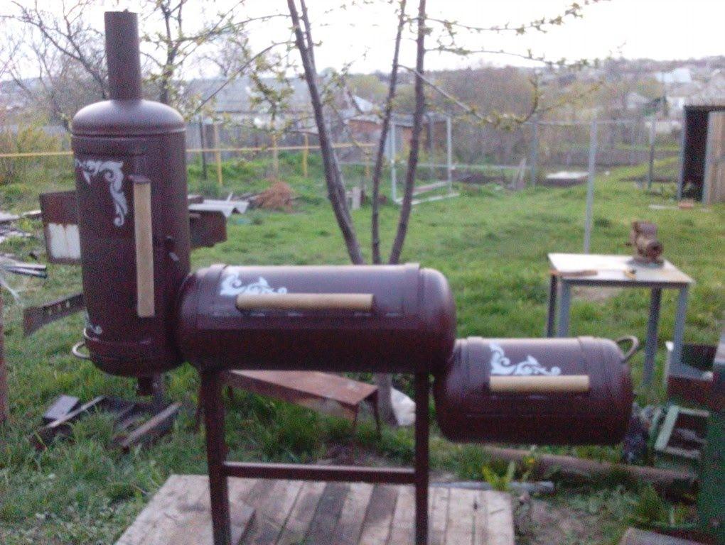 От профи: мангал из газового баллона своими руками, фото, чертежи | o-builder.ru