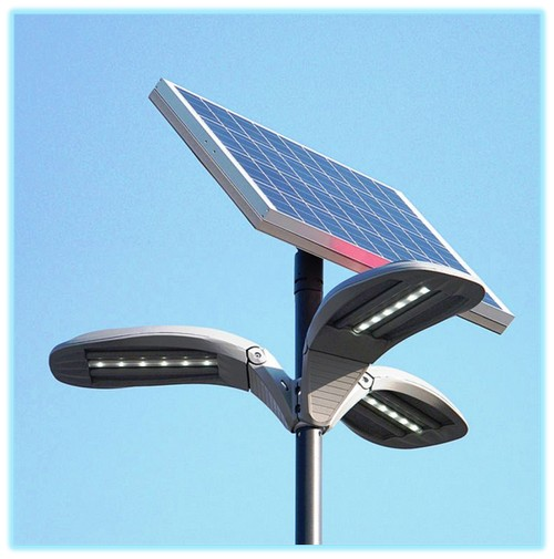 Уличные светильники на солнечных батареях: топ лучших