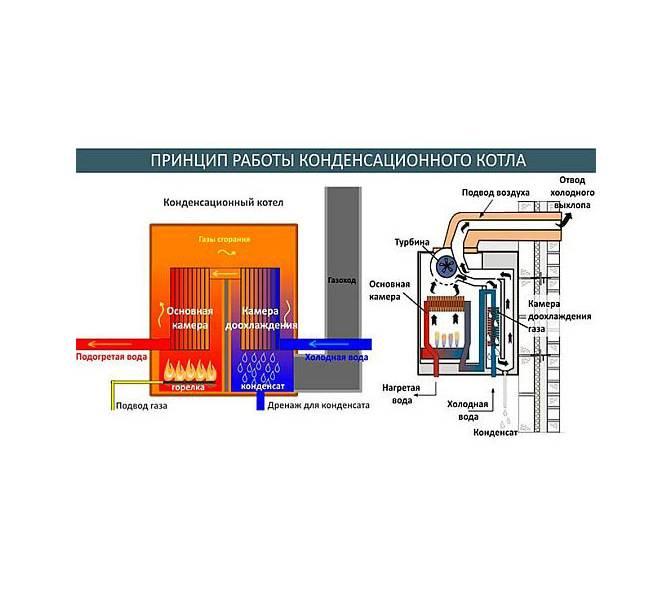 Конденсационный газовый котел: принцип работы настенного и как правильно выбрать