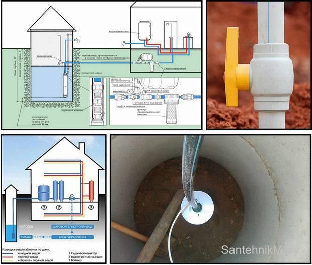 Водопровод на даче своими руками - инструкция!