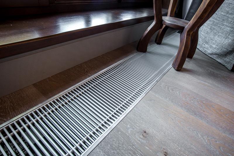 Можно спрятать радиаторы в пол | отопление дома и квартиры