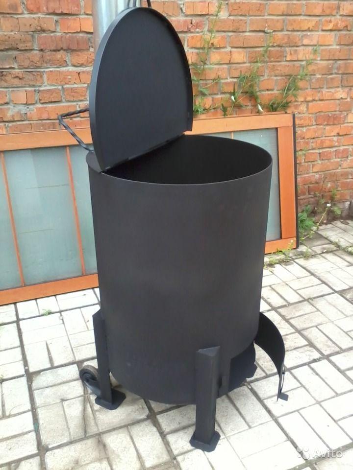 Как сделать печь из бочки для сжигания мусора на даче