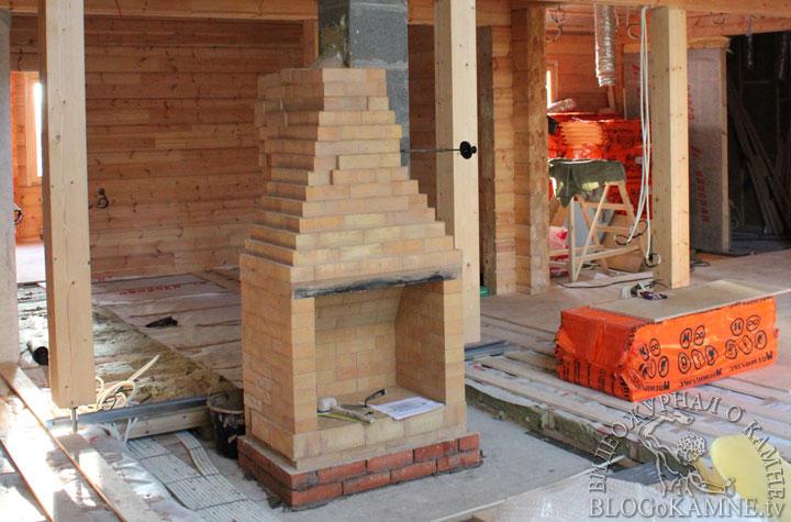 Небольшой камин своими руками, как построить сооружение из кирпича