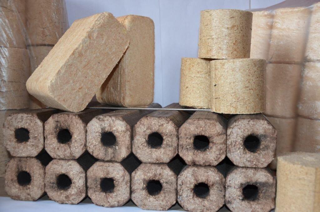 Розжиг и использование топливных брикетов формата «ruf» (евродрова)