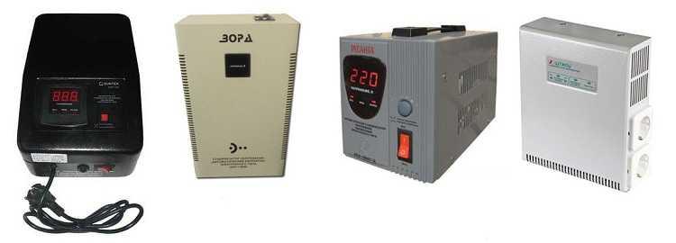 Стабилизатор напряжения для газового котла: цели использования, типы и их характерситики