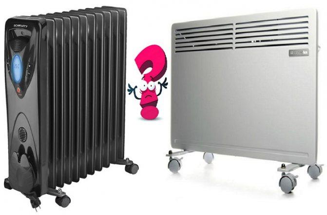 Что лучше: конвектор или масляный обогреватель? чем отличается конвекторный радиатор от масляного? какой экономичнее? какой выбрать для квартиры?