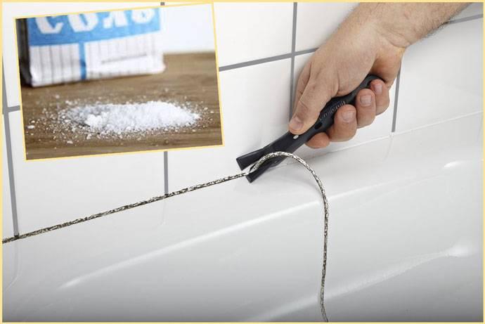 Чем оттереть силиконовый герметик с плитки?