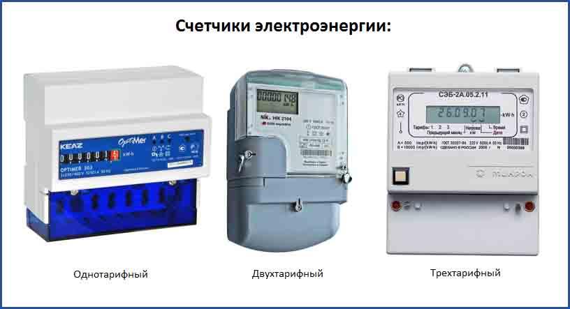 Использование однофазного двухтарифного счетчика электроэнергии - жми!