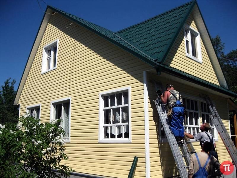 Чем можно обшить дом снаружи дешево и красиво — фото