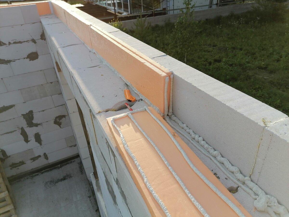 Армопояс на газобетоне: виды, советы, как сделать при устройстве стен