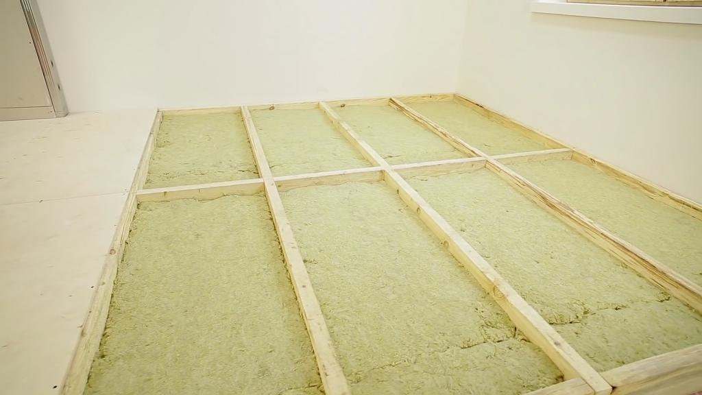 Утепление бетонного пола в частном доме