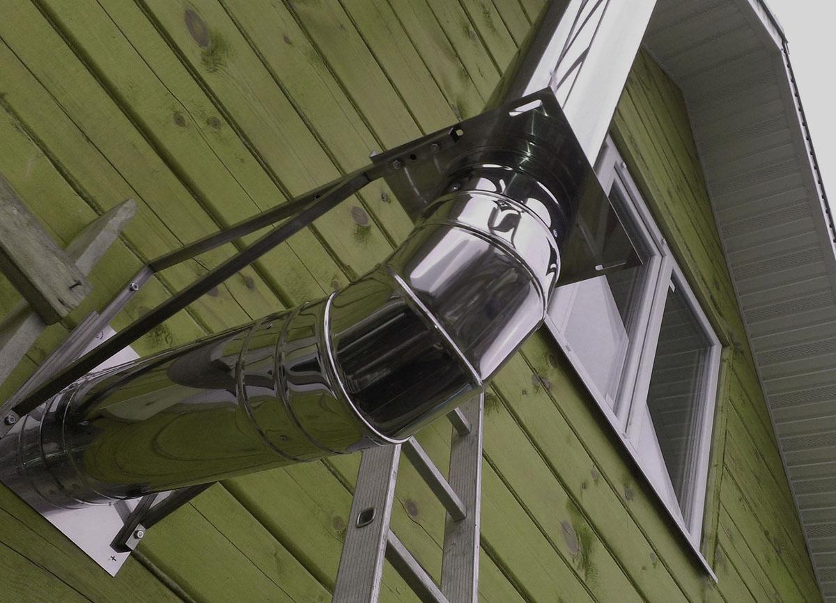 Как утеплить дымоход в загородном доме своими руками