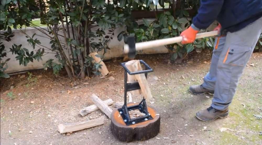 Как сделать конусный дровокол своими руками с чертежами и видео