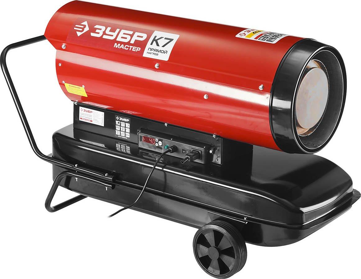 Дизельные тепловые пушки для гаража: обзор, отзывы