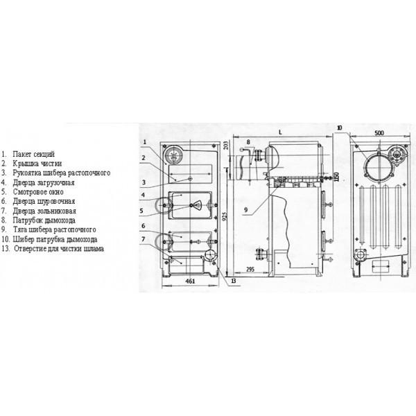 Твердотопливный котел сибирь. обзор моделей кво и гефест