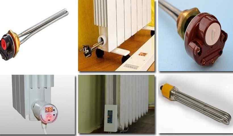 Тэны для радиаторов отопления с терморегулятором, монтаж в алюминиевые батареи