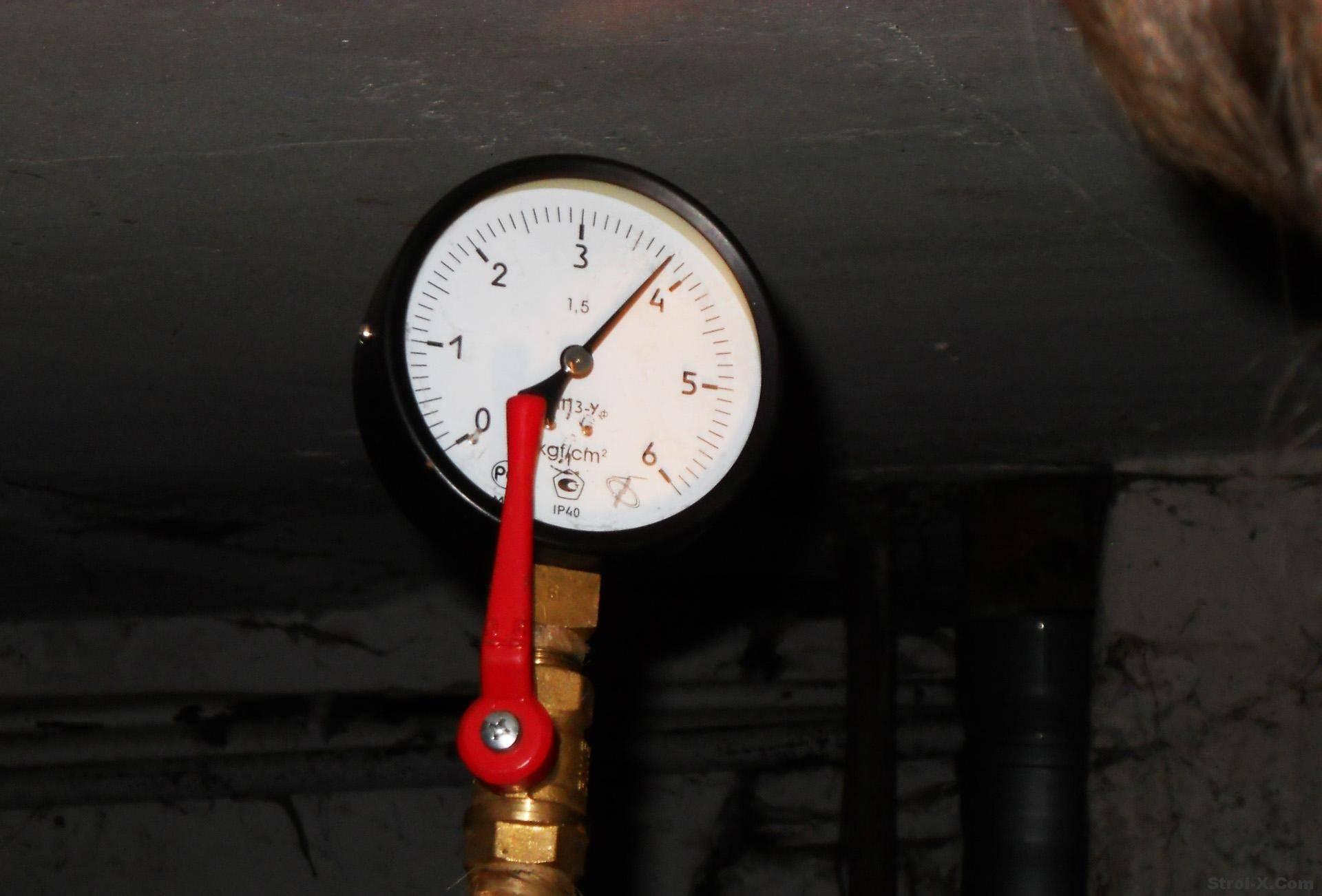 Давление в системе отопления в частном доме, рабочие показатели и причины, почему оно падает