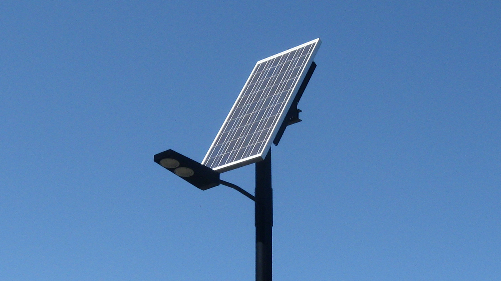 Прожекторы на солнечных батареях