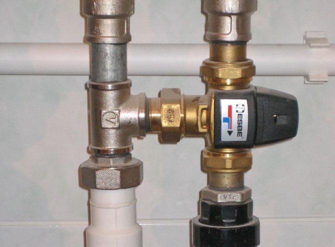 Термоголовка для водяного теплого пола водяного: принцип работы rtl-регулировки