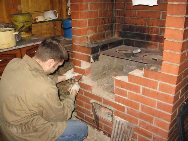 Печь своими руками из кирпича: для отопления дома со схемой порядовки