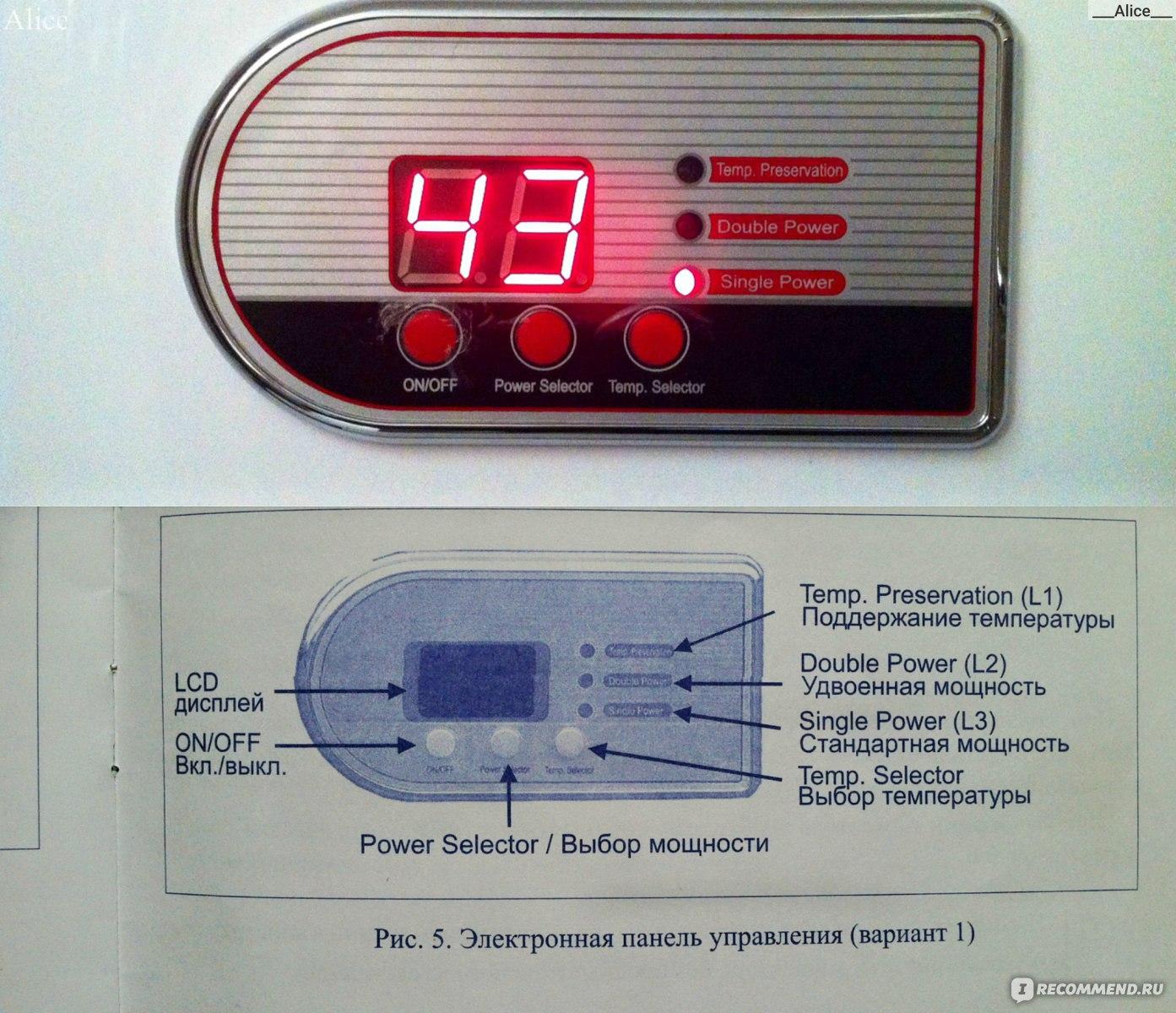 Как включить водонагреватель термекс и аристон, особенности каждого