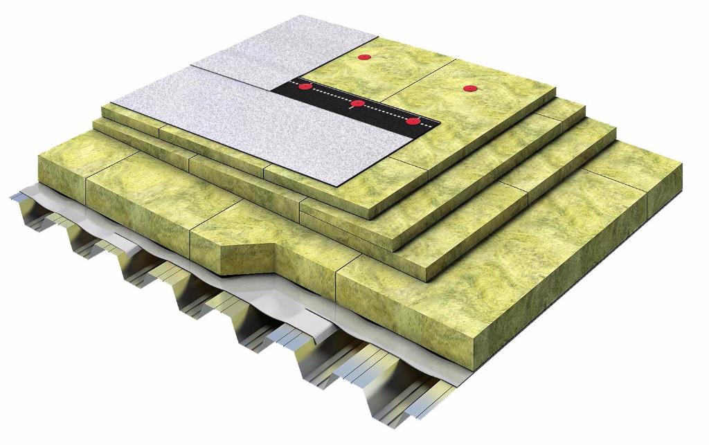 Утепление плоской кровли минеральной ватой и керамзитом - стройпомощник