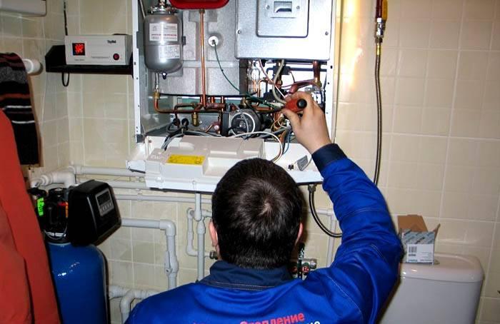 Что делать, если потек газовый котел отопления