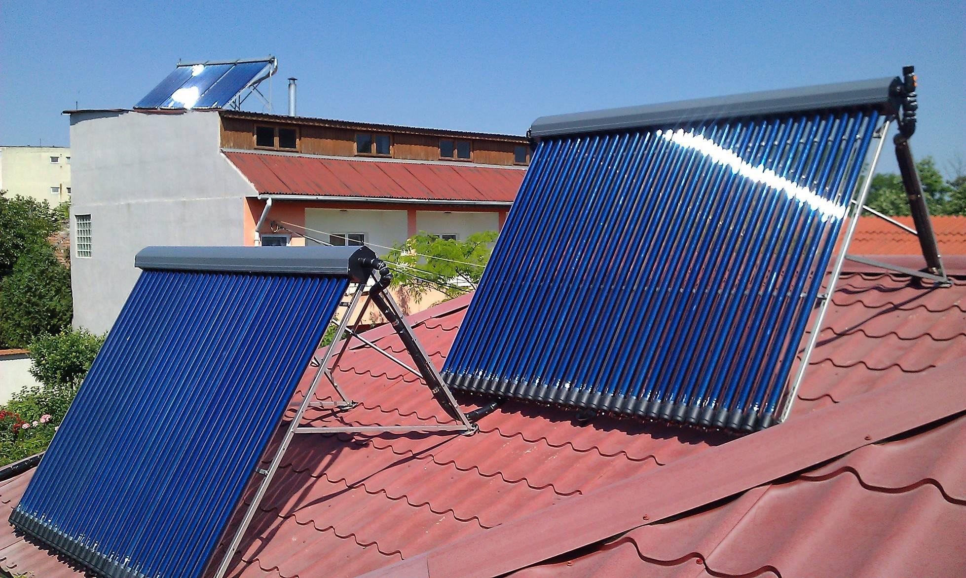 Реализация солнечного отопления своими руками