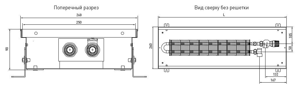 Установка конвекторов отопления - лучшее отопление