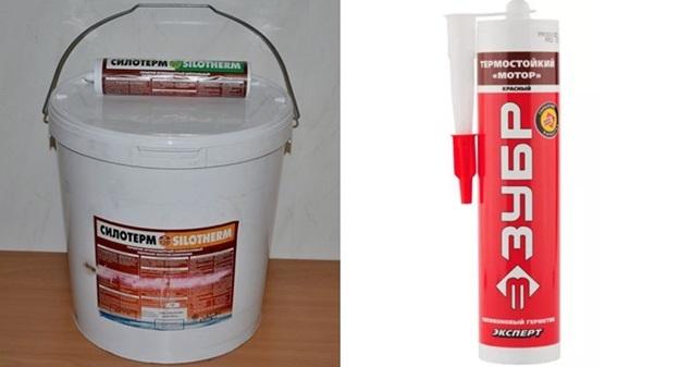 Высокотемпературный герметик – обзор огнеупорных силиконовых смесей