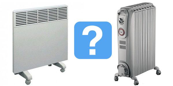 Что лучше: конвектор или масляный обогреватель