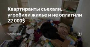 Месть квартирантов | «открытая газета»